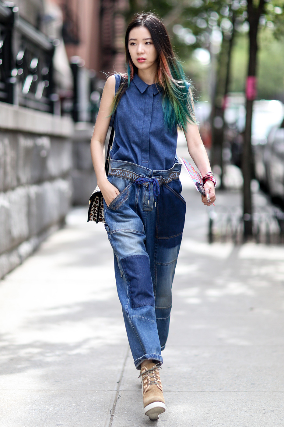 The Best Of New York Fashion Week Street Style Day 5
