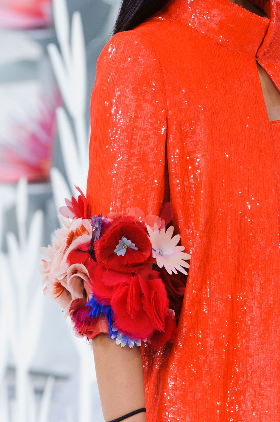 chanel couture spring 2015 fashion show close ups the