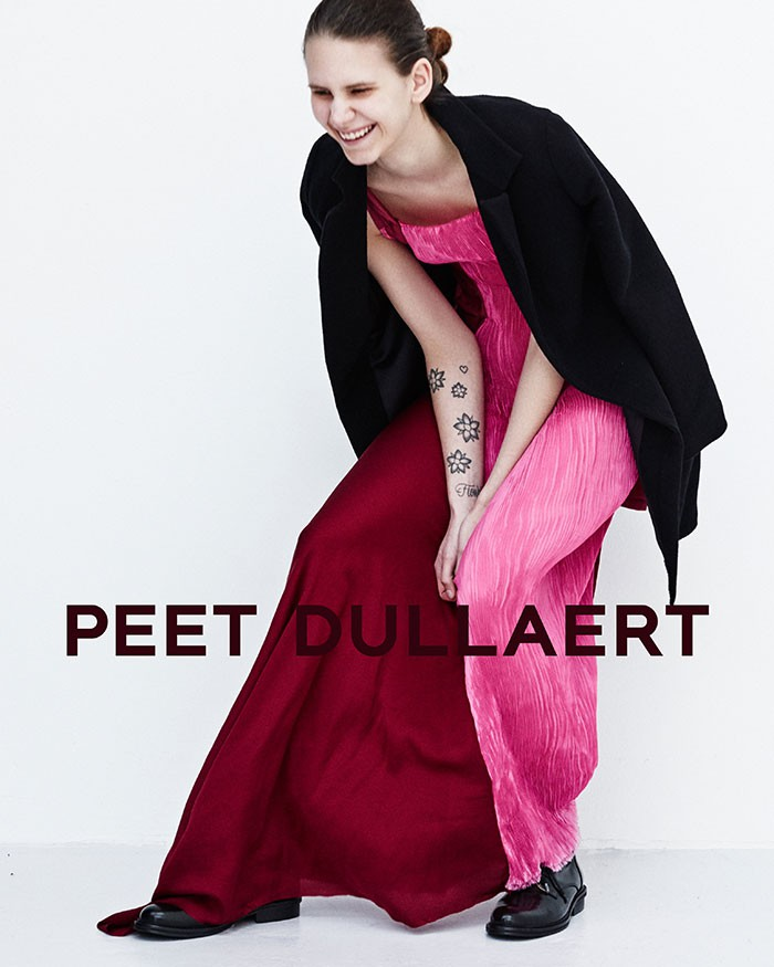 peet dullaert fall 2015 ad campaign  Niki Geux by Duy Vo photo