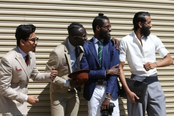 Street style New York Mens Fashion week July 2015 photo