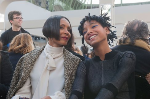 Jada Pinket Smith & Willow Smith at Chanel