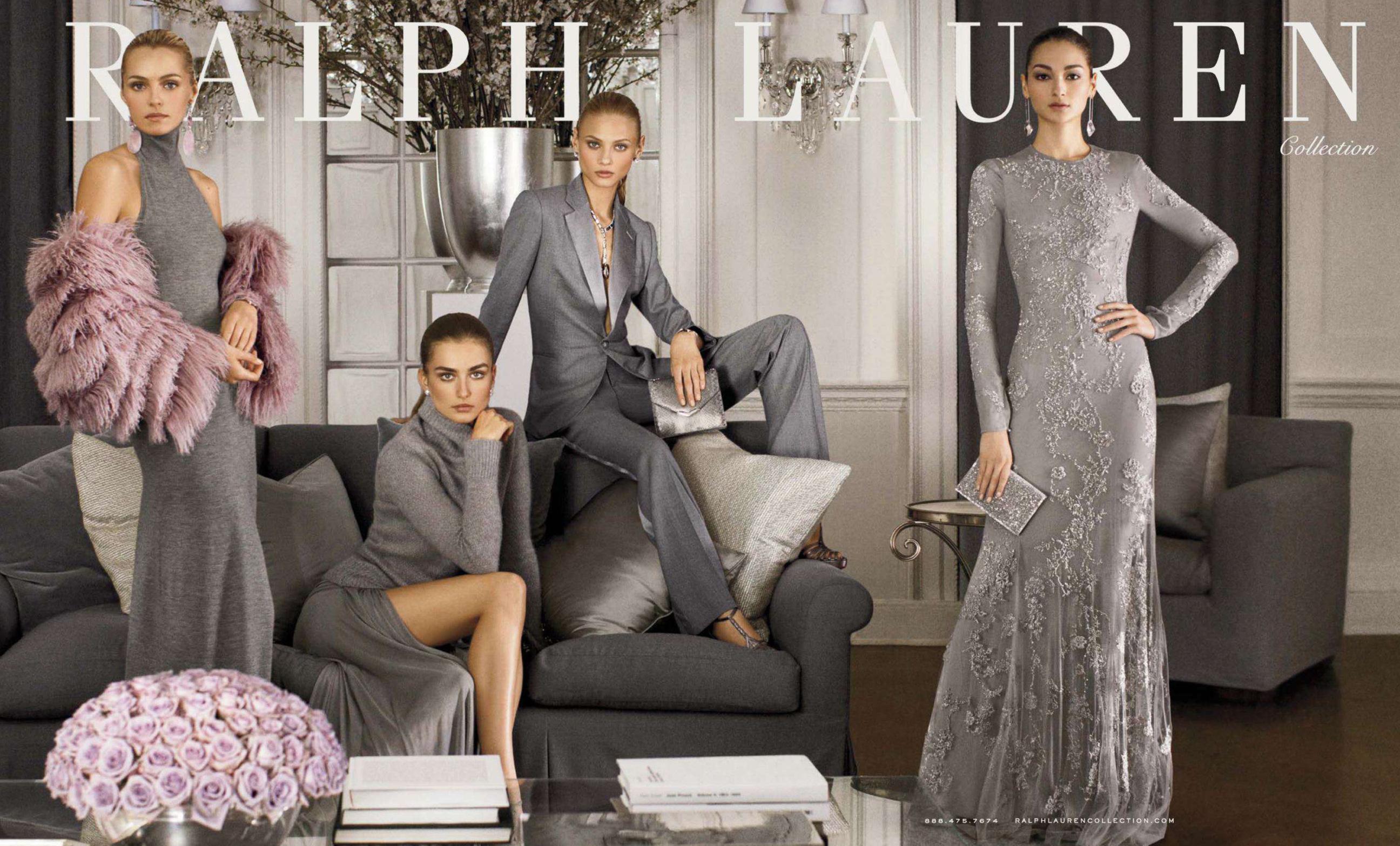 Ralph-Lauren-fall-2014-ad-campaign-Andreea Diaconu-Anna-Selezneva-Bruna-Tenorio-Valentina-Zelyaevathe-by-carter-berg-the-impression-1