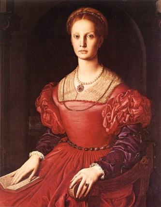 Lucrezia Panciatichi by Agnolo di Cosimo   1545