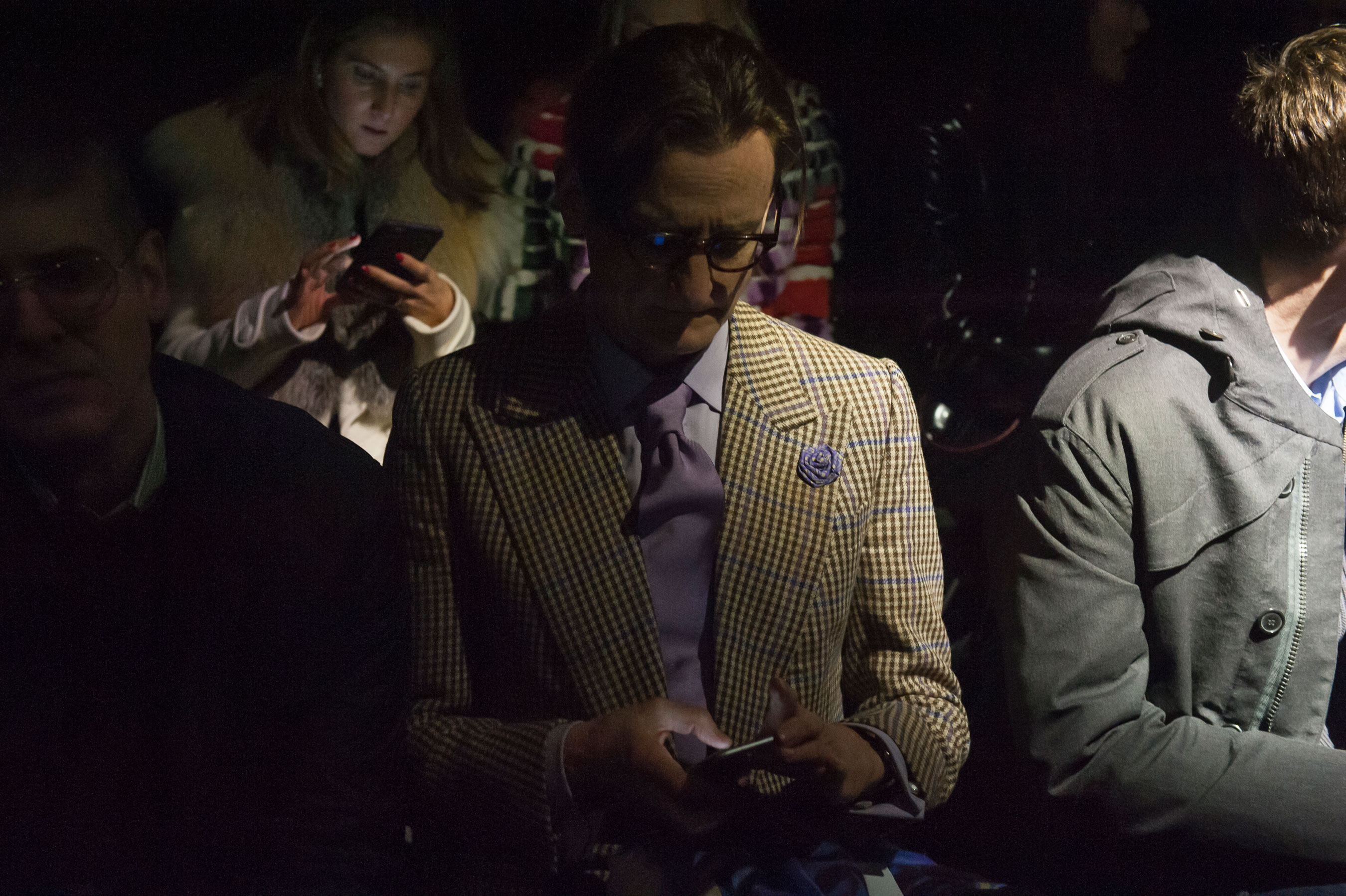 Hamish Bowles at Dries van Noten