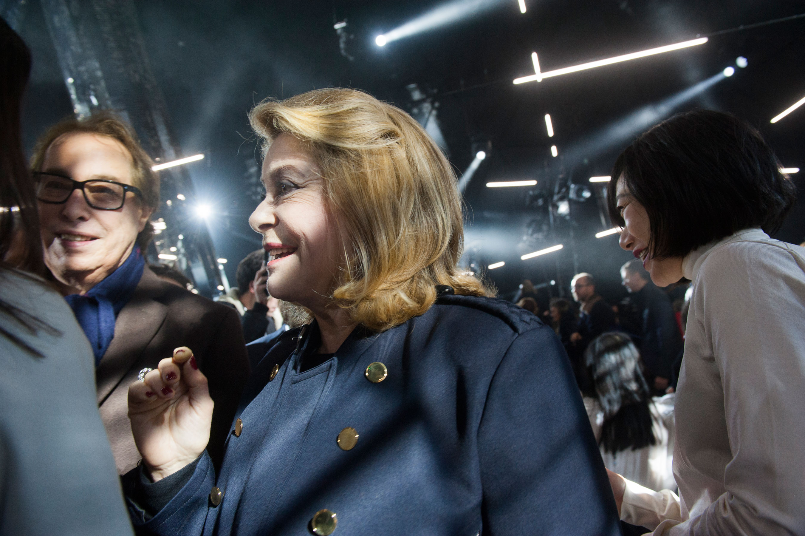 Catherine Deneuve at Louis Vuitton