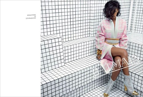 Balmain-spring-summer-Rihanna-2014