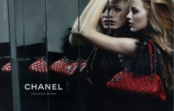 Chanel Mademoiselle Handbag SS 2011 Blake Lively