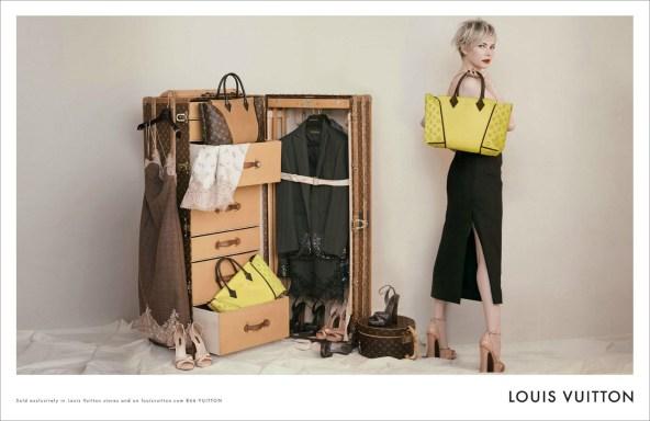Louis Vuitton Accessories FW 2013 Peter Lindbergh Michelle Williams