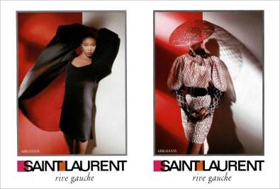 Saint Laurent Rive Gauche SS 1988