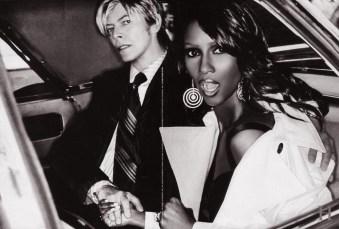 Tommy Hilfiger H by Hilfiger FW 2004 Iman David Bowie Ellen Von Unwerth Doug Lloyd