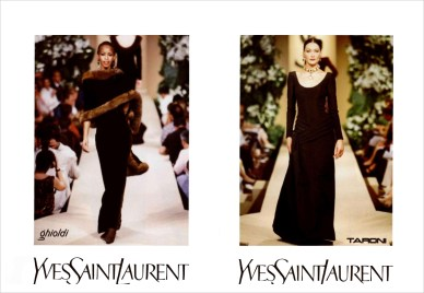 Yves Saint Laurent FW 1997