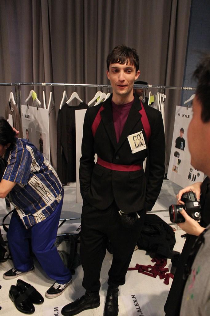 Robert-Geller-fashion-show-backstage-spring-2017-the-impression-080