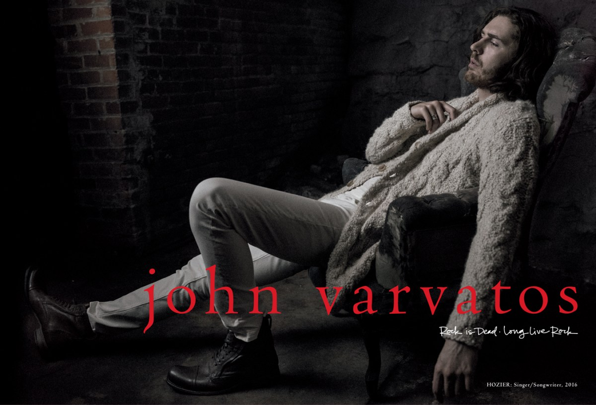 JV FW16 Hozier Spread White Sweater - All Tagging