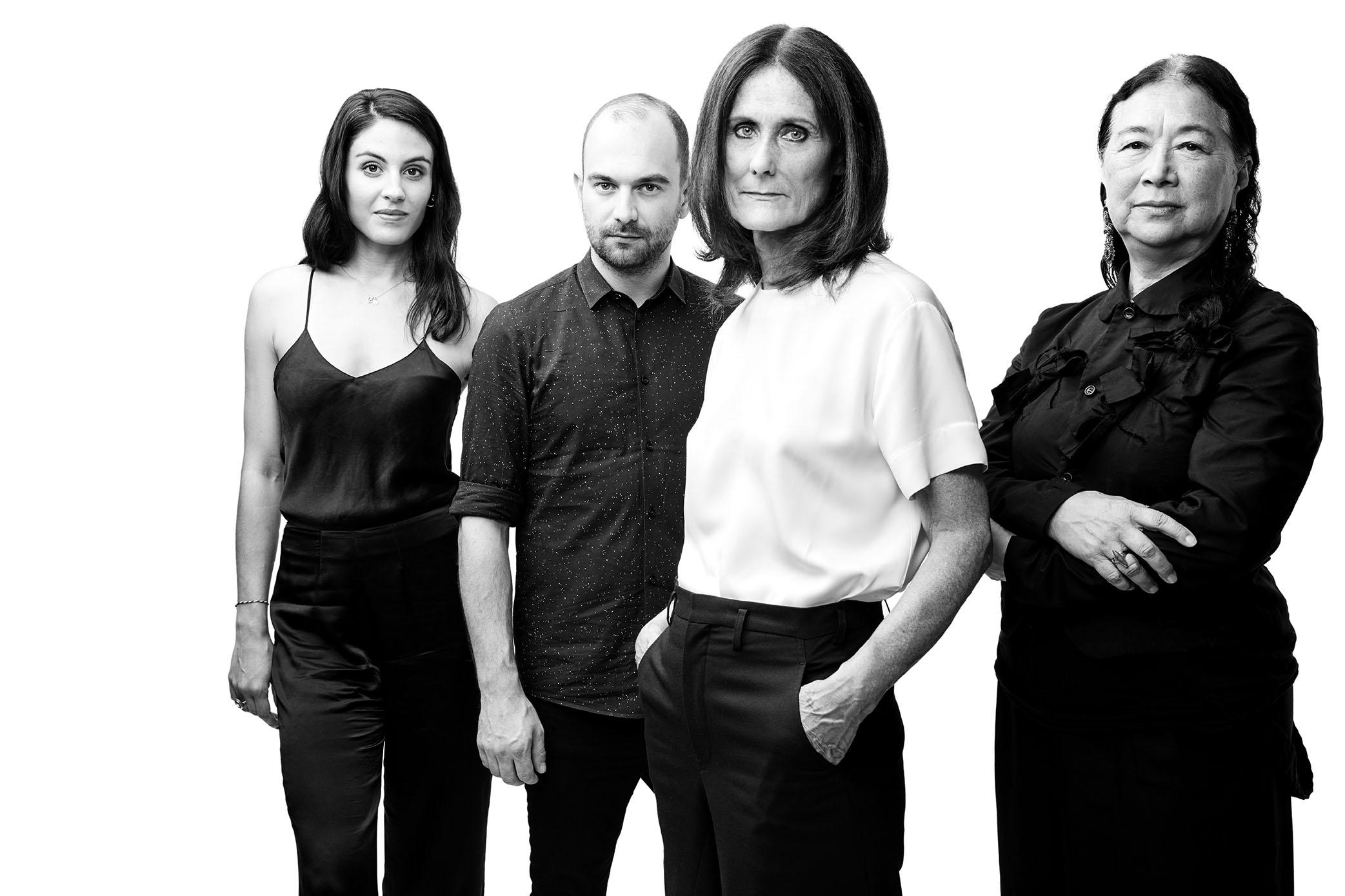 Alexandra Avalone, Dominic Kaffka, Julie Mannion, Nian Fish