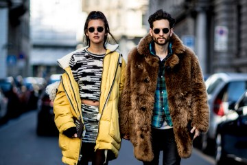 Milan Men's Fashion Week Street Style Day 2 Fall 2017
