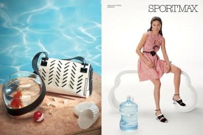 Sportmax' Spring 2017 Ad Campaign
