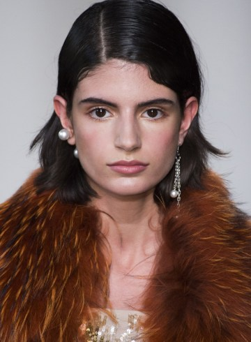 Blugirl Fall 2017 Fashion Show Beauty