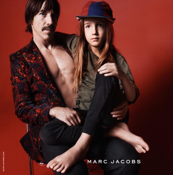 Anthony-Kiedis-Everly-Bear-Kiedis