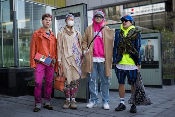 Tokyo Fashion Week Street Style Day 3 Fall 2017