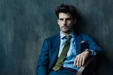 Johannes Huebl Helps Launch Todd Snyder's Bespoke Services in New Campaign