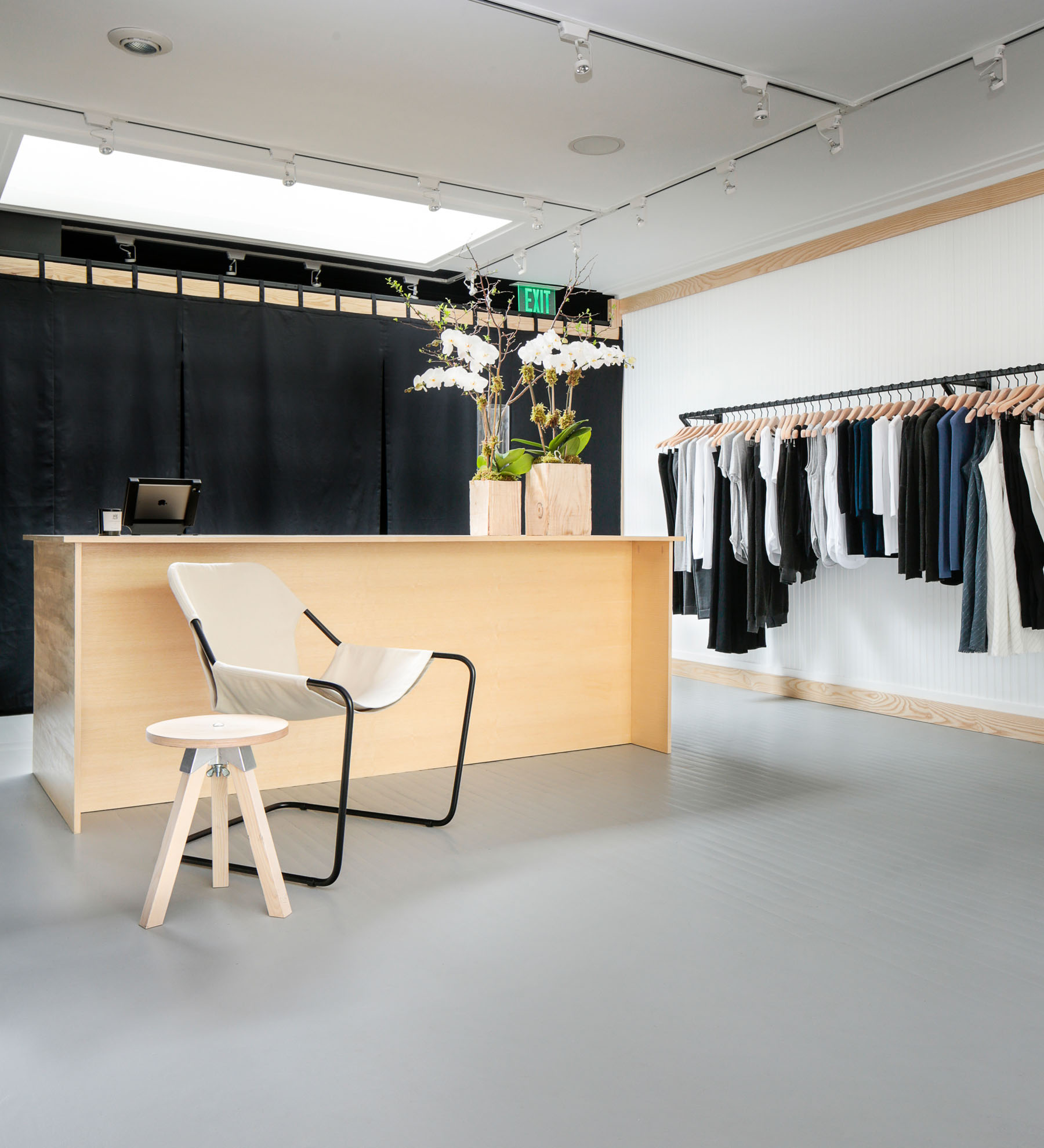 ATM Hamptons Pop-Up Interior