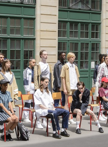 Andrea Crews Spring 2018 Men's Fashion Show