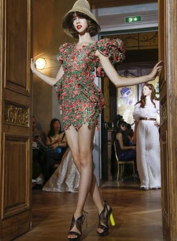Ronald Van Der Kemp Fall 2017 Couture Fashion Show