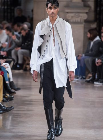 Ann Demeulemeeste Fall 2018 Men's Fashion Show