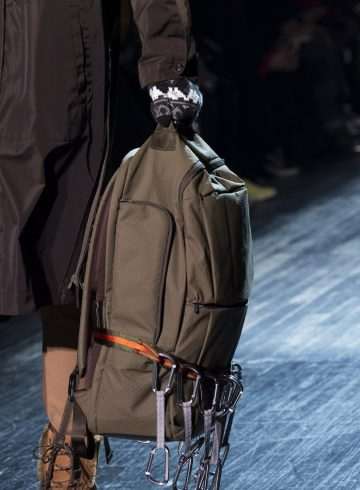 White Mountaineering Fall 2018 Men's Fashion Show Details