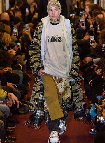 Vetements Fall 2018 Men's Fashion Show