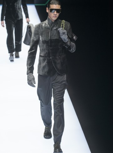 Emporio Armani Fall 2018 Men's Fashion Show