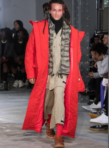 Facetasm Fall 2018 Men's Fashion Show