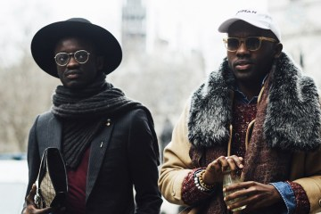 London Fashion Week Men's Street Style Fall 2018 Day 3