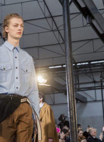 No. 21 Fall 2018 Men's Fashion Show Atmosphere