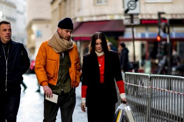 Paris Fashion Week Men's Street Style Fall 2018 Day 3