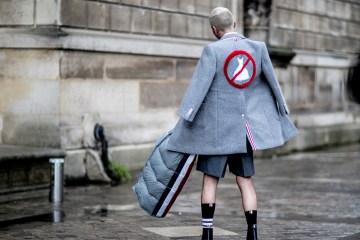 Paris Fashion Week Men's Street Style Fall 2018 Day 4
