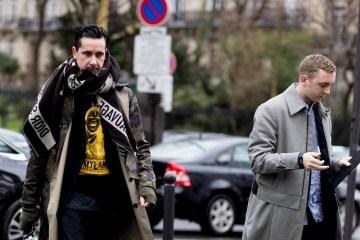 Paris Fashion Week Men's Street Style Fall 2018 Day 2