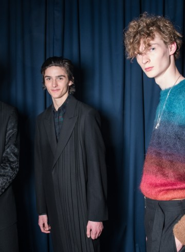 Paul Smith Fall 2018 Men's Fashion Show Backstage
