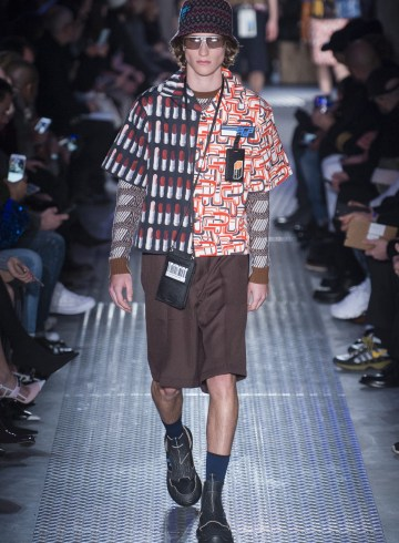 Prada Fall 2018 Men's Fashion Show