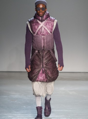 Boris Bidjan Saberi Fall 2018 Men's Fashion Show