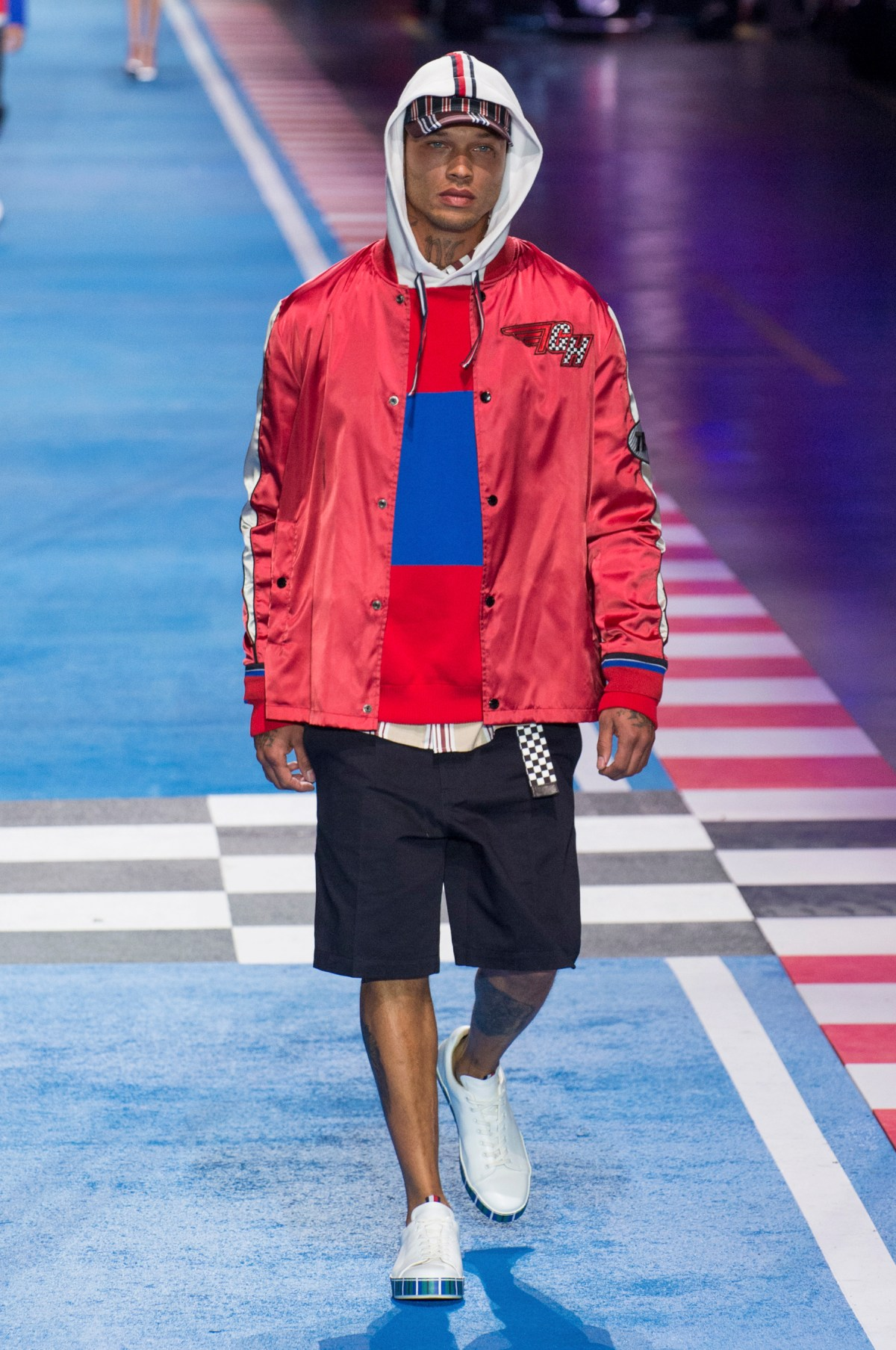 Tommy hilfiger spring 2018 fashion show the impression - Tommy hilfiger show ...