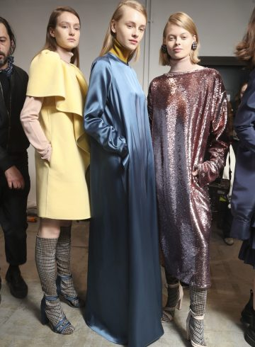Albino Teodoro Fall 2018 Fashion Show Backstage Cont.