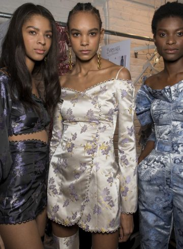 Alice McCall Fall 2018 Fashion Show Backstage
