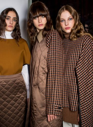 Derek Lam Fall 2018 Fashion Show Backstage