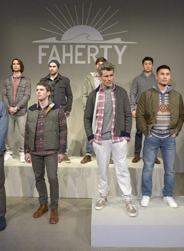 Faherty Fall 2018 Men's Fashion Show