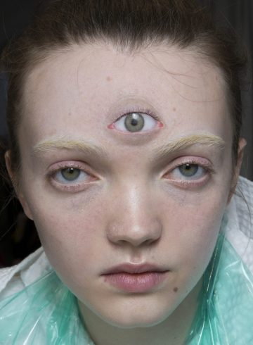 Gucci Fall 2018 Fashion Show Backstage Beauty