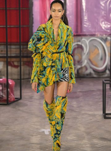 Halpern Fall 2018 Fashion Show