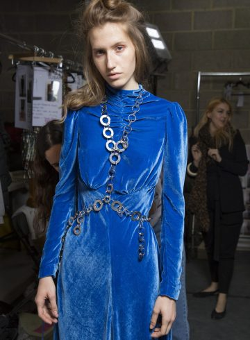 Isa Arfen Fall 2018 Fashion Show Backstage