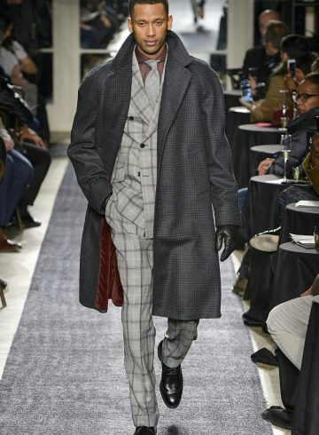 Joseph Abboud Fall 2018 Men's Fashion Show