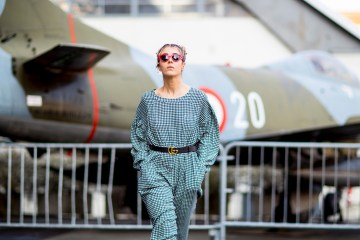 Milan Fashion Week Street Style Fall 2018 Day 6